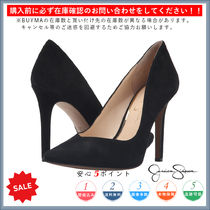 Jessica Simpson Casual Style Plain Pin Heels Heeled Sandals