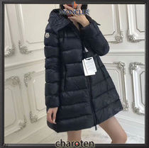 MONCLER SUYEN Nylon Street Style Plain Medium Down Jackets