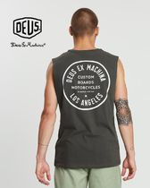 Deus Ex Machina Unisex Plain Tanks