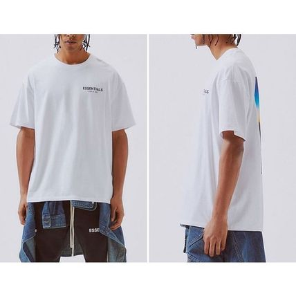 FEAR OF GOD More T-Shirts Crew Neck Unisex Street Style Cotton Short Sleeves Oversized 3