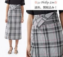 3.1 Phillip Lim Zigzag Long Maxi Skirts