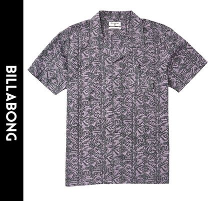 Billabong Shirts Street Style Short Sleeves Shirts