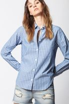 ZADIG & VOLTAIRE Street Style Cotton Shirts & Blouses