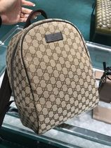 GUCCI Canvas Street Style Backpacks