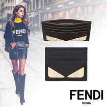 FENDI BAG BUGS Calfskin Card Holders