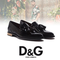 Dolce & Gabbana Loafers Plain Leather U Tips Home Party Ideas