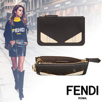 FENDI BAG BUGS Calfskin Keychains & Bag Charms