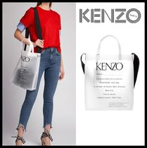 KENZO Casual Style Street Style Totes