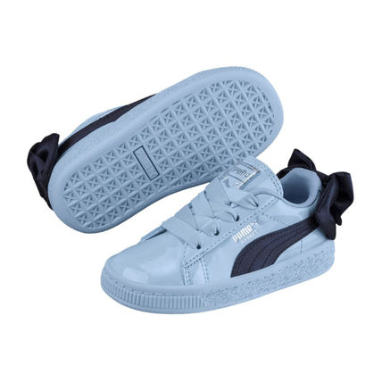 Blended Fabrics Street Style Dad Sneakers Kids Girl Sneakers