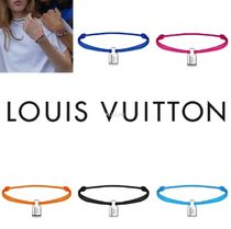 Louis Vuitton Casual Style Blended Fabrics Collaboration Silver Bracelets