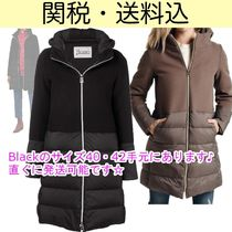 HERNO Wool Blended Fabrics Plain Down Jackets
