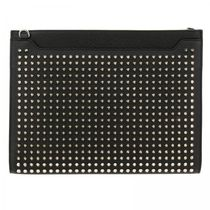 Christian Louboutin Studded 2WAY Leather Clutches