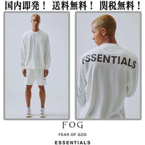 FEAR OF GOD Unisex Street Style Collaboration Cotton T-Shirts