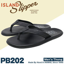 Island Slipper Plain Leather Sport Sandals Sports Sandals