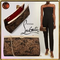 Christian Louboutin Chain Party Style Clutches