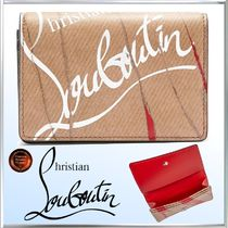 Christian Louboutin Leather Card Holders