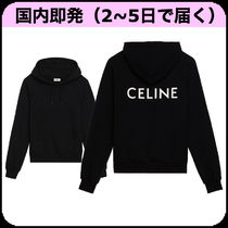 CELINE Plain Hoodies & Sweatshirts