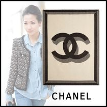 CHANEL 2019-20AW BLANKET beige black more lifestyle