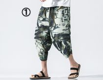 Camouflage Street Style Sarouel Shorts