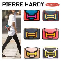 Pierre Hardy Casual Style Suede 2WAY Plain Crossbody Shoulder Bags