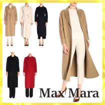 MaxMara Wool Long Elegant Style Coats