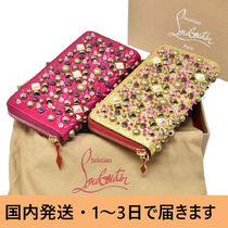 Christian Louboutin Panettone  With Jewels Long Wallet  Long Wallets