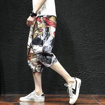 Printed Pants Street Style Patterned Pants
