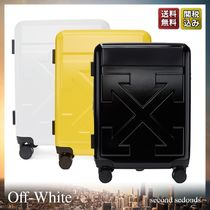 Off-White Unisex Street Style 1-3 Days Hard Type Carry-on