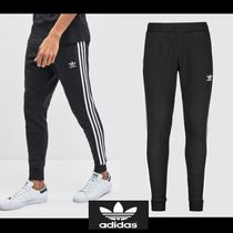 adidas Street Style Plain Cotton Joggers & Sweatpants