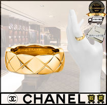 CHANEL Casual Style Unisex Street Style Rings