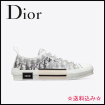 Christian Dior Unisex Logo Low-Top Sneakers