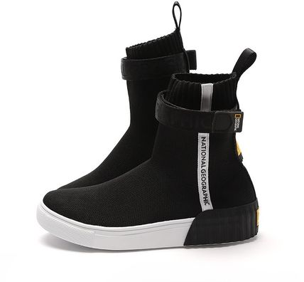 Casual Style Unisex Street Style Plain Low-Top Sneakers