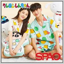 SPAO Unisex Blended Fabrics Cotton Lounge & Sleepwear