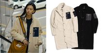 NATIONAL GEOGRAPHIC Casual Style Unisex Street Style Plain Outerwear