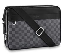 Louis Vuitton DAMIER GRAPHITE Monogram Leather Messenger & Shoulder Bags