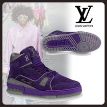 Louis Vuitton Street Style Leather Sneakers