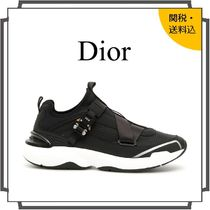 DIOR HOMME Street Style Bi-color Plain Sneakers