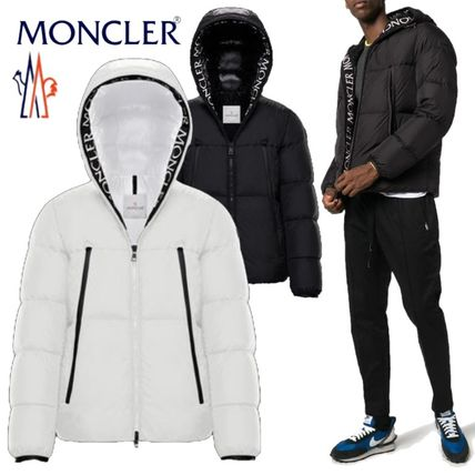 Short Nylon Street Style Plain Down Jackets