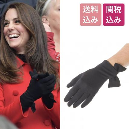 Wool Plain Gloves Gloves