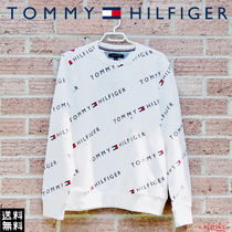 Tommy Hilfiger Unisex Street Style Long Sleeves Sweatshirts