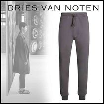 Dries Van Noten Plain Cotton Joggers & Sweatpants