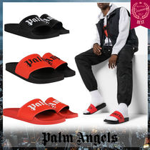 Palm Angels Unisex Street Style Sandals