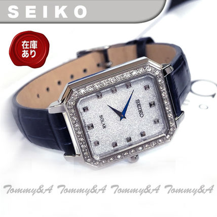Leather Square Quartz Watches Formal Style  Analog Watches