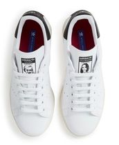 adidas Rubber Sole Casual Style Faux Fur Street Style Collaboration