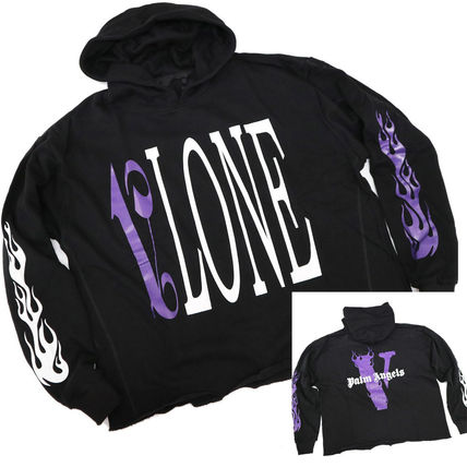 VLONE Street Style Cotton Oversized Hoodies