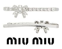MiuMiu Costume Jewelry Party Style With Jewels Hair Accessories