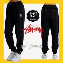 STUSSY Casual Style Cotton Long Pants