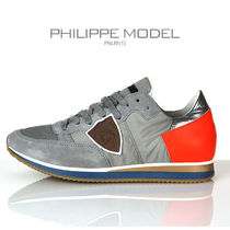 PHILIPPE MODEL PARIS Suede Street Style Collaboration Sneakers