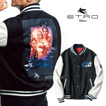 ETRO Short Street Style Collaboration Varsity Jackets