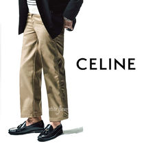 CELINE Tapered Pants Street Style Plain Tapered Pants